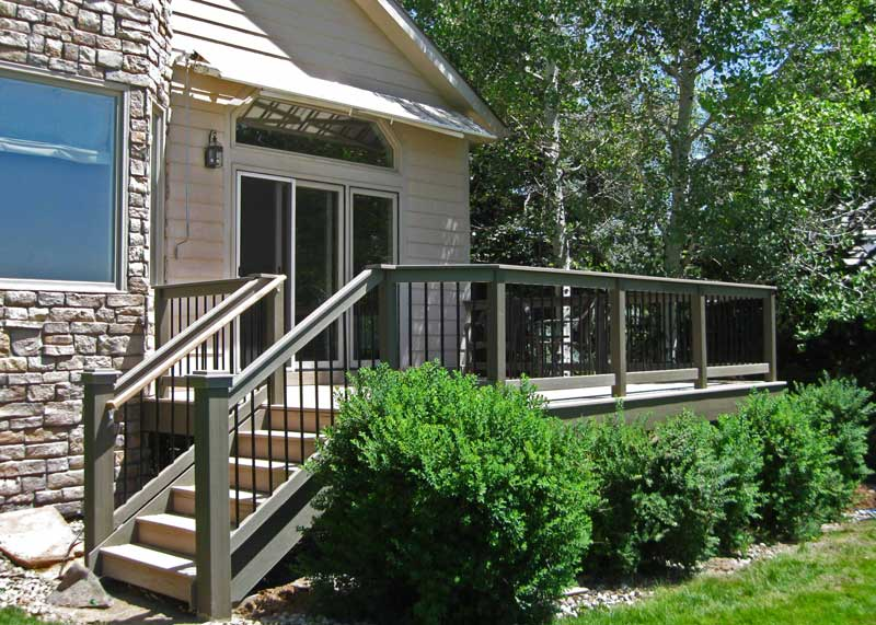 Boulder composite deck installation services