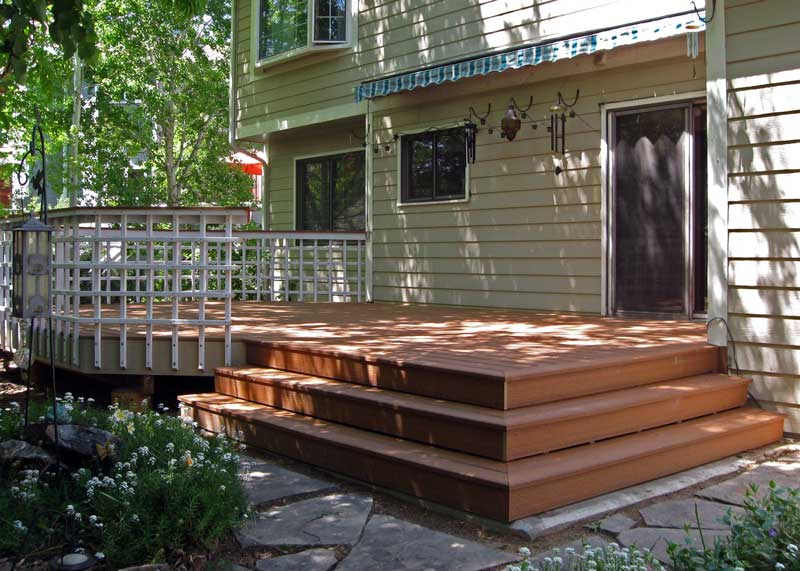 boulder composite deck builder