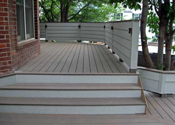 custom wood deck installer Boulder