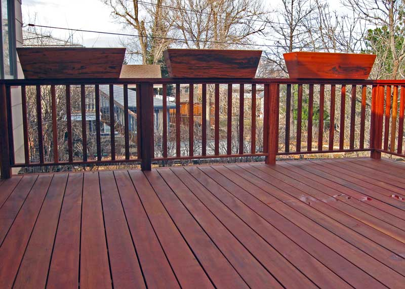 painted deck Boulder