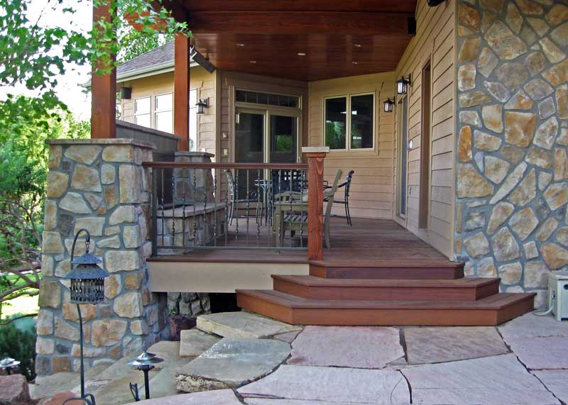custom deck railings Boulder